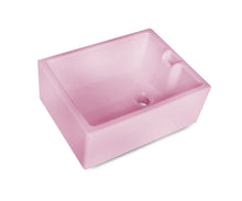 Hand made tradional belfast sinks for kitchen or laundry rooms - pink