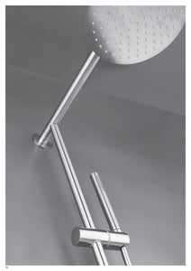 Solid steel Shower Mixer