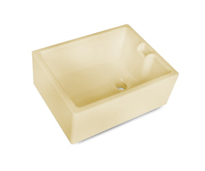 Hand made tradional belfast sinks for kitchen or laundry rooms - yellow