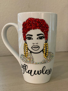 (New) Flawless Beauty - Large Bling Coffee Mug