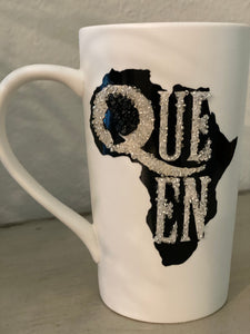 (New) Queen Beauty - Large Bling Coffee Mug