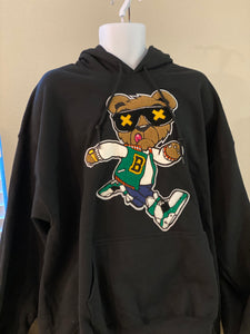 "(New) Hype Bear - Custom ""Reworked"" Hoodie Jacket Men's Size Medium"