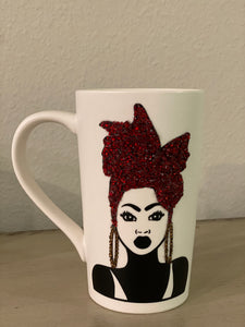 (New) Wrap Beauty - Large Bling Coffee Mug