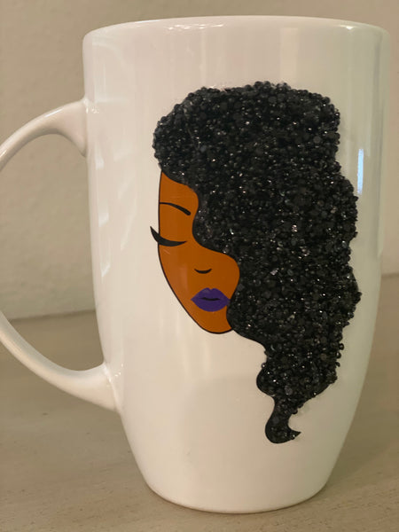 (New) Silky Beauty - Large Bling Coffee Mug