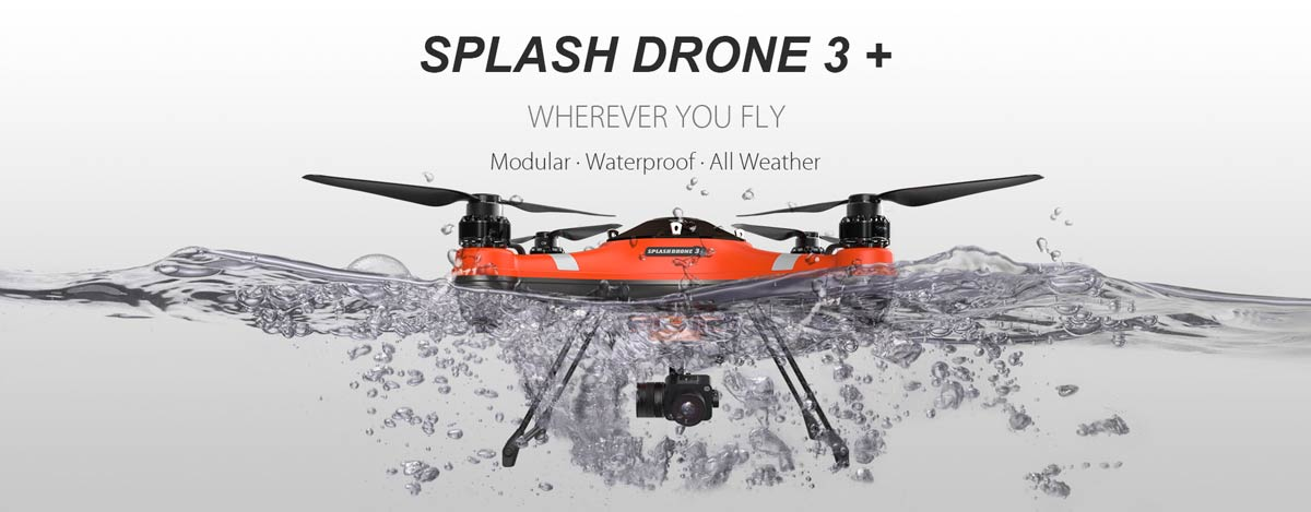 Floating Waterproof Drone