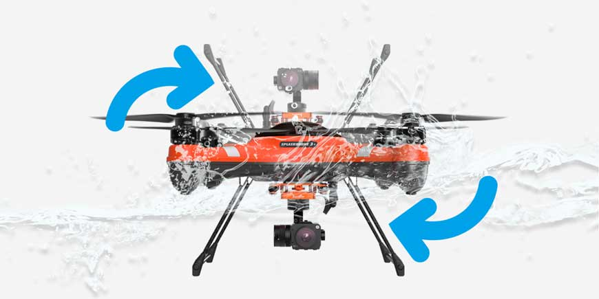 Waterproof Drone that self rights