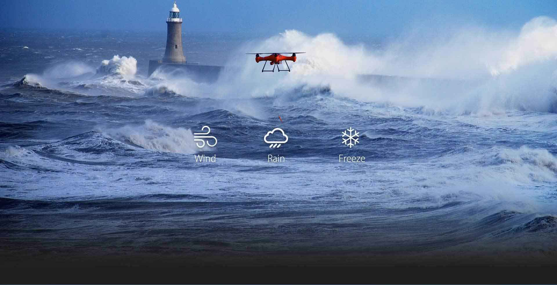 Waterproof Rescue Drone UK