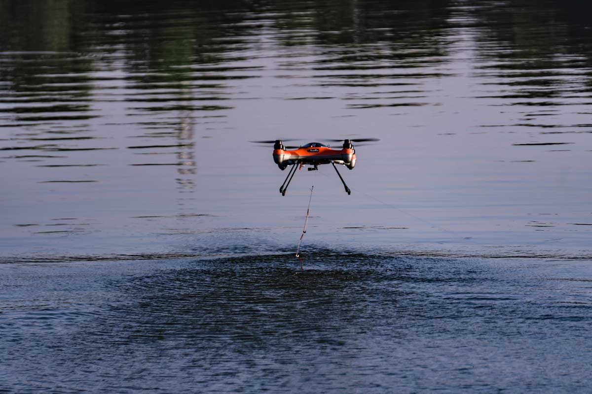 Trolling With A Drone