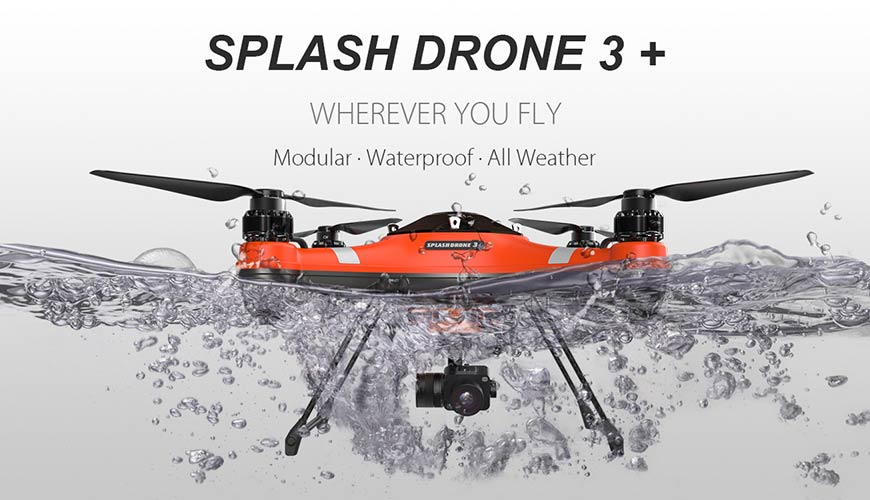 UK Waterproof Drone