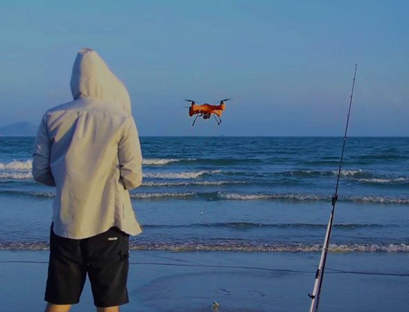drone for fisherman