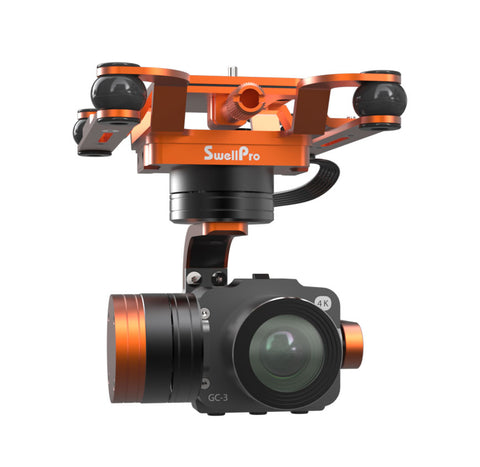 Waterproof 4K 3 Axis Gimbal Camera For Splashdrone 3/3+