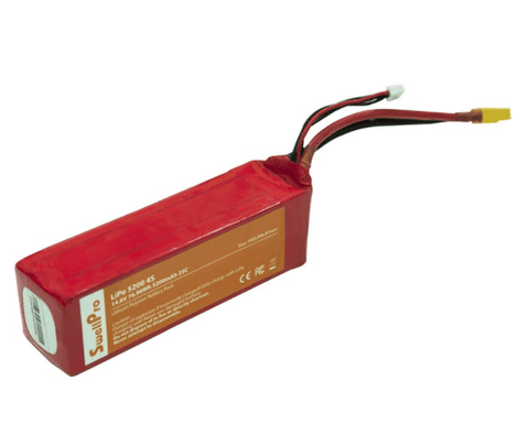 Splash Drone Battery 14.8V 5200 mAh Lipo