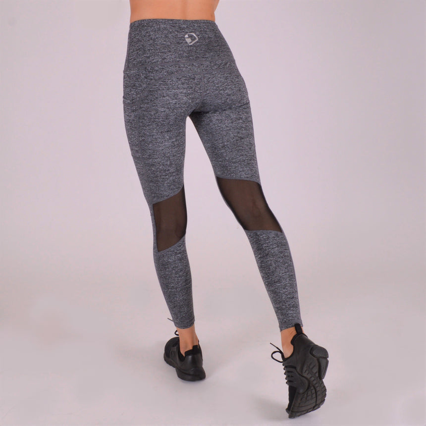 Juggernaut Essential High Waisted Leggings - Charcoal