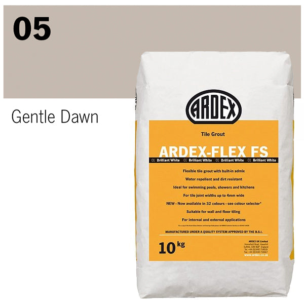 Ardex-Flex FS Flexible tile grout 10kg 05 Gentle Dawn