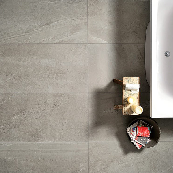 Coem Brit Stone Grey Natural (60 x 120) large format tile