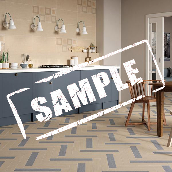 Denim Fabric Beige (SAMPLE) Porcelain wall floor tile