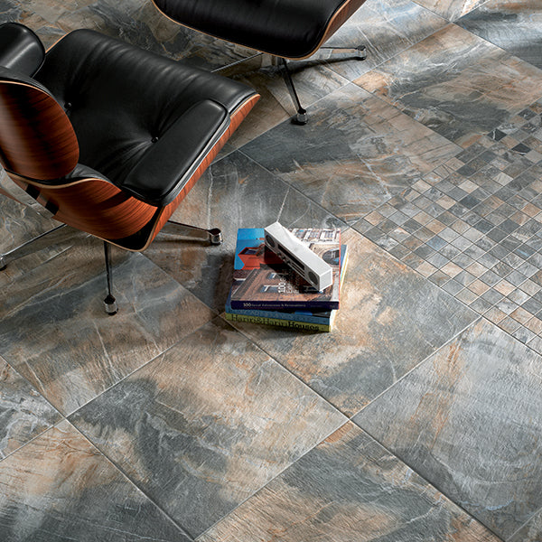 Stone Blue (50 x 50) ABK Fossil tiles