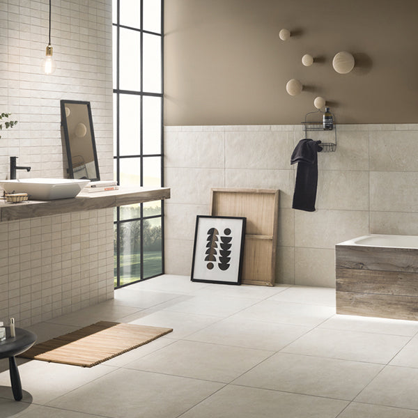 Galano Cream (30 x 60) Porcelain large format wall floor tile