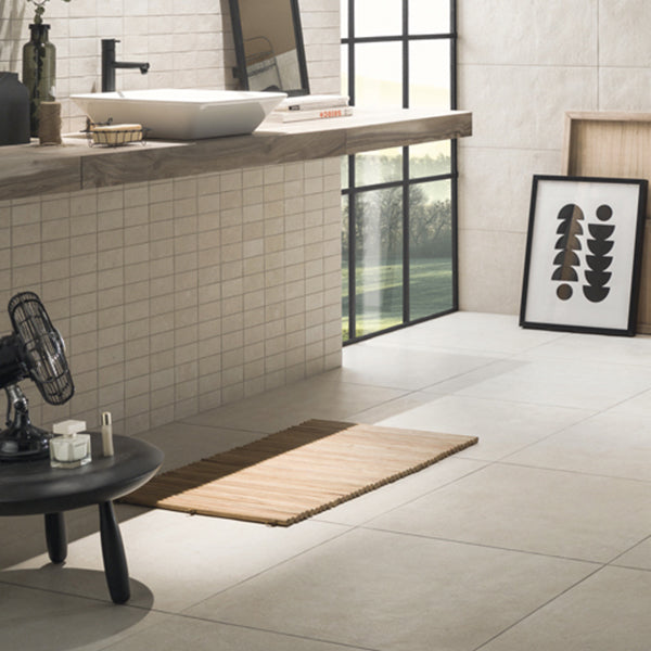 Galano Cream (45 x 90) Porcelain large format wall floor tile