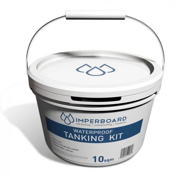 Imperboard wetroom shower Waterproofing Tanking Kit 10 sqm