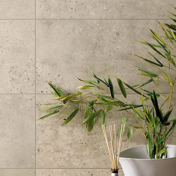 Fioranese Concrete Ivory (60.4 x 60.4) large format tile