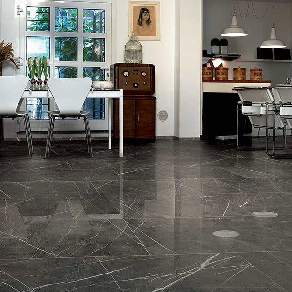 Pantheon Marble (80 x 80 Matt) - Antique Marble