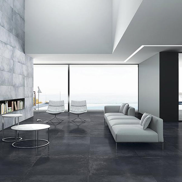 Sil Ceramiche More 5 Dark (100 x 100) large format tile