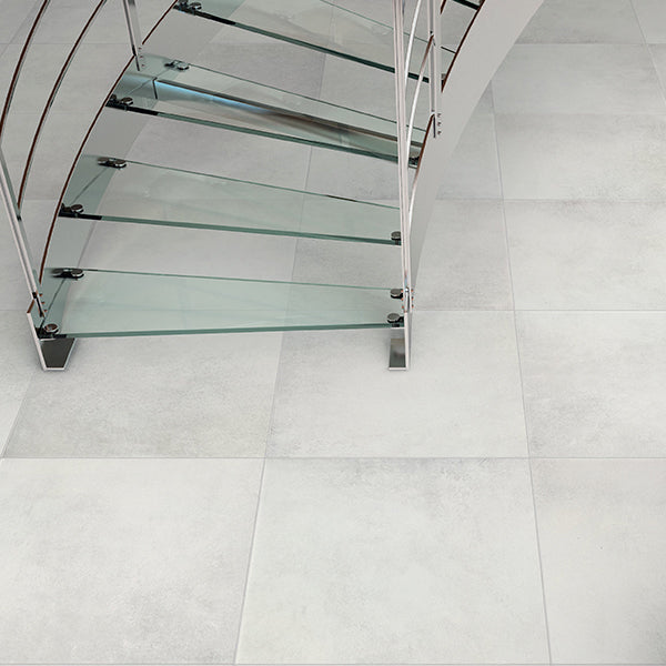 Sil Ceramiche More 5 Ice (100 x 100) large format tile