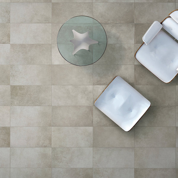 Sil Ceramiche More 5 Warm Grey (100 x 100) large format tile