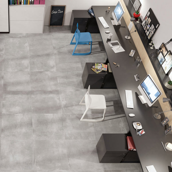 Volsorano Grey (60 x 60) Porcelain large format wall floor tile
