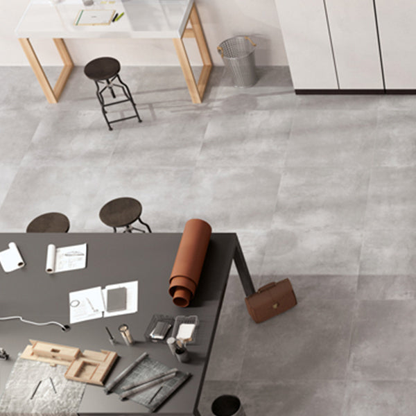 Volsorano Grey (80 x 80) Porcelain large format wall floor tile