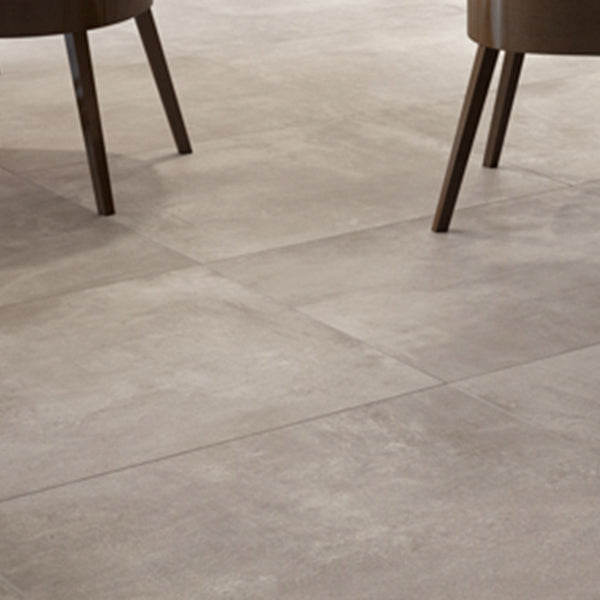 Volsorano Taupe (80 x 80) Porcelain large format wall floor tile