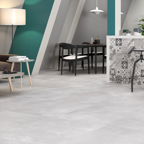 Volsorano White (30 x 60) Porcelain large format wall floor tile