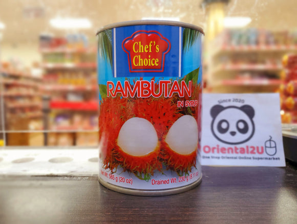 廚之選 即食紅毛丹 Chef's Choice Rambutan with Pineapple in Syrup 565g