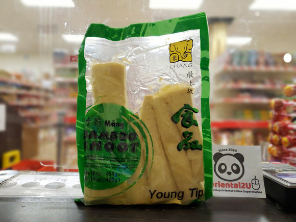 象牌 竹筍 Chang Brand Bamboo Shoot Young Tip 454g