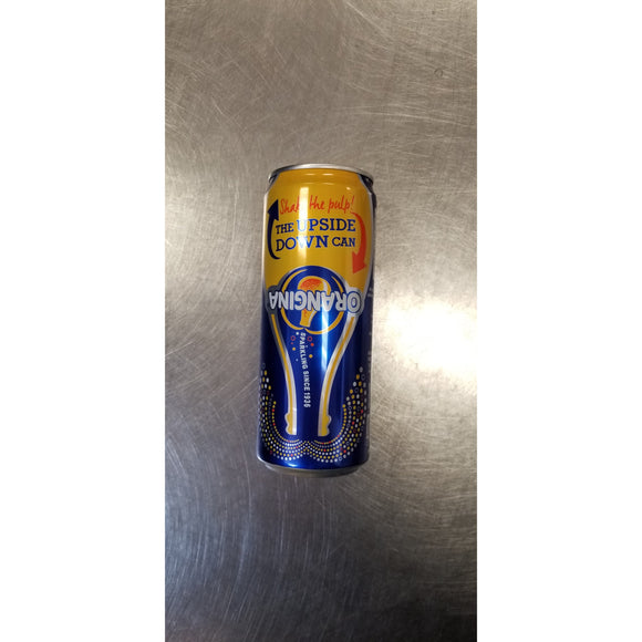 ORANGINA 有气橙汁 (罐装) ORANGINA Orange Juice (CAN) 330ml