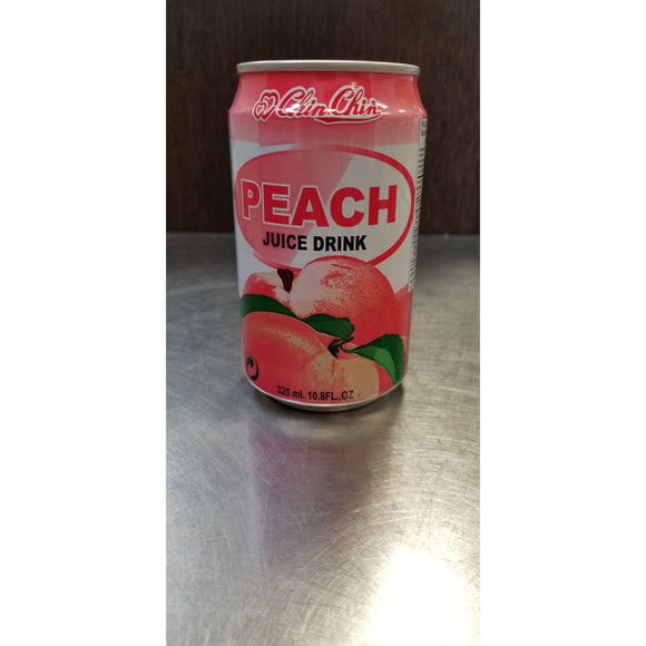 亲亲蜜桃汁 (罐装) CHIN CHIN Peach Drink (CAN) 320ml