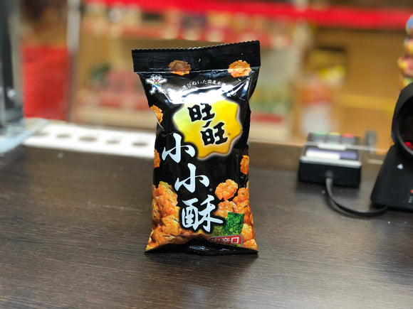 旺旺 海苔辣味小小酥 Wang Wang Seaweed Spicy Flavour Mini Fried Rice Crackers 60g