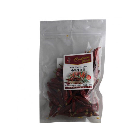太陽門 小米辣椒幹 TYM Dried Xiao Mi Chilli 50g