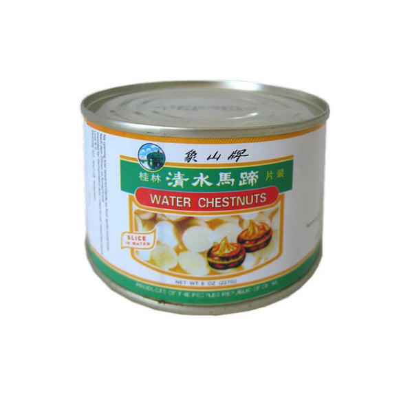 象山牌 清水馬蹄 片裝 Mount Elephant Water Chestnuts (Slices) 142g
