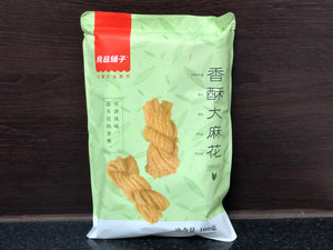 良品鋪子 香酥大麻花 芝麻甜味 BS Fried Dough Twist Sesame Flavour 160g