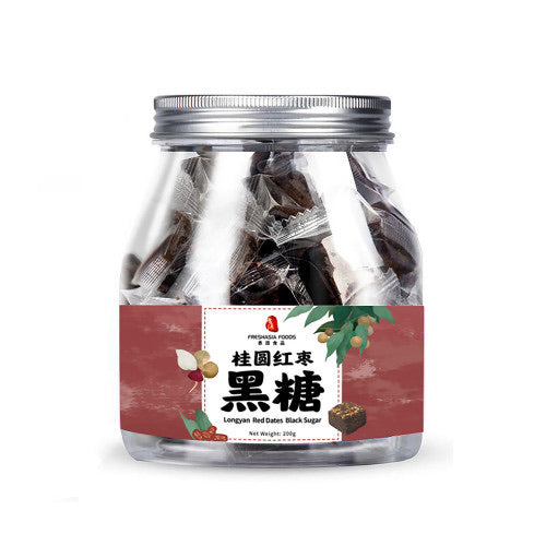 香源 桂圆红枣黑糖 FA Longyan Red Dates Black Sugar 200g