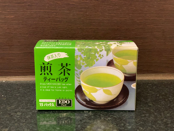 EDO 抹茶入煎茶包 Sencha Tea Bag with Green Tea Powder 30g