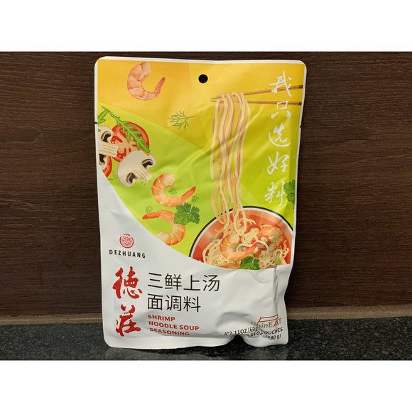 德庄 三鲜上汤面调料 Dezhuang Shrimp Noodle Soup Seasoning 240g