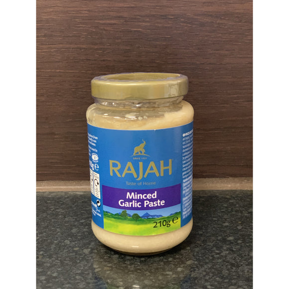 Rajah 蒜蓉酱 Minced Garlic Paste 210g