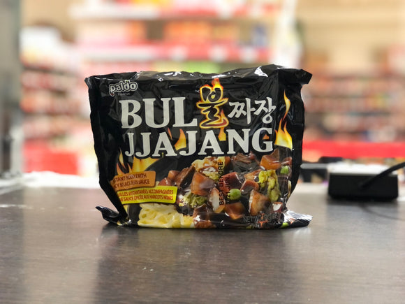 八道 韩国辣炸酱面 Paldo Bul Jjajang (Korean Spicy Black Bean Noodle) 203g