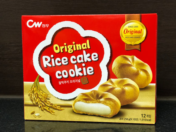 CW 韩国米糍曲奇 CW Original Rice Cake Cookie 258g