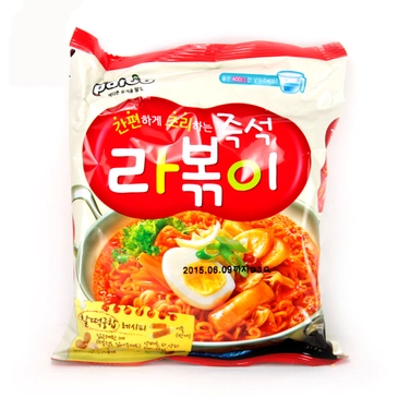 Paldo炒年糕拉麵 Stir Fried Noodle With Korean Hot & Spicy Soup Base 145g