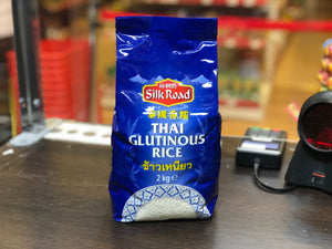 丝绸路 泰国香糯米 Silk Road Thai Glutinous Rice 2kg