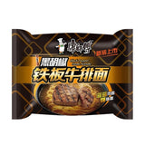 康师傅 黑胡椒铁板牛排面 Kangs Black Pepper Steak Instant Noodle 102g